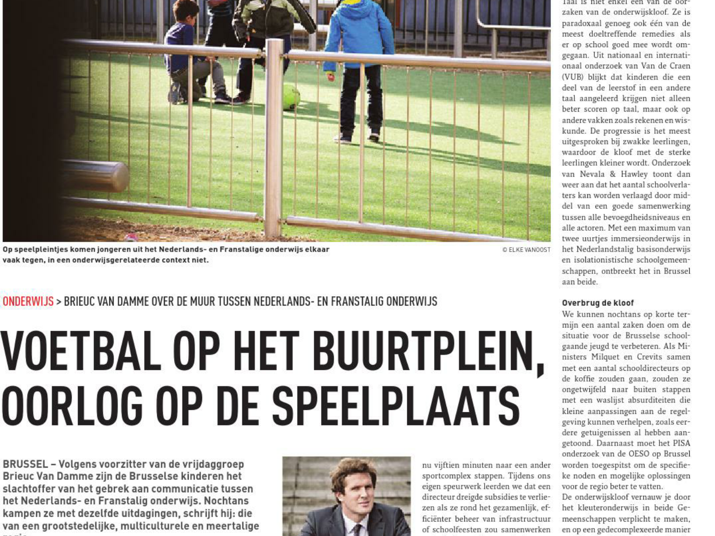Screenshot artikel