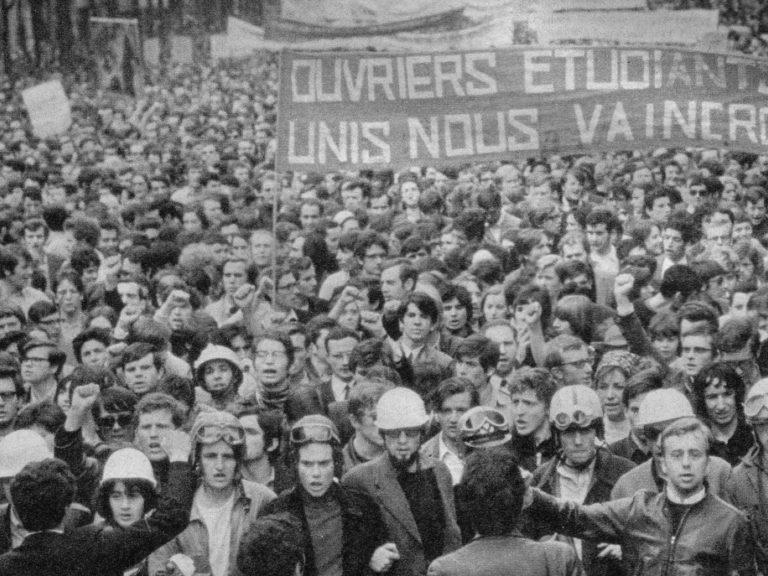 Mai68 etudiants ouvriers 1