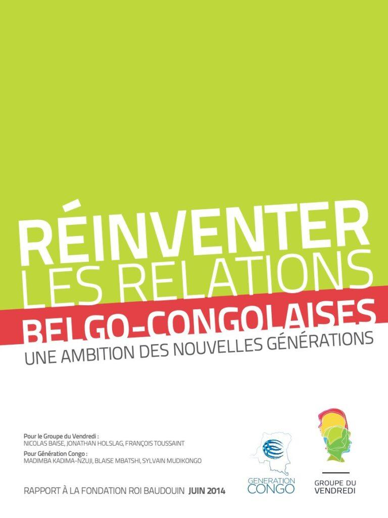 Groupeduvendredi reinventer les relations belge congolaise
