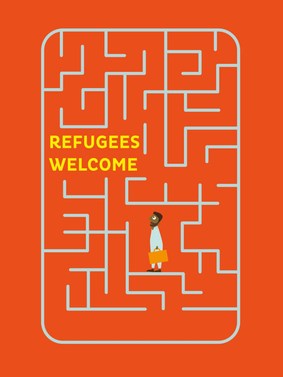 Fridaygroup report refugees welcome